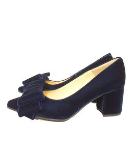 Mary Jane pump velours