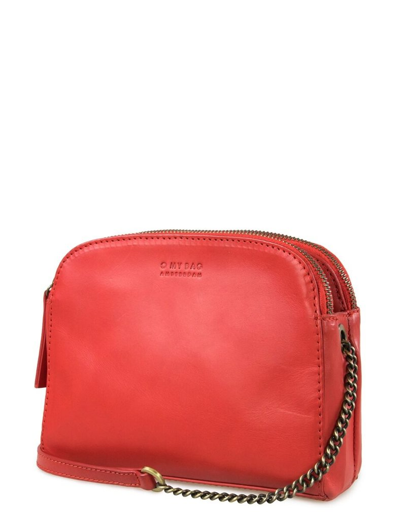 O My Bag Amsterdam Emily midi ROOD