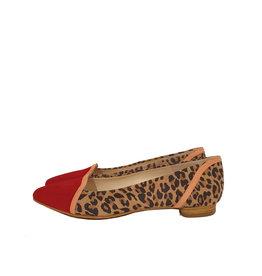 Mary Jane Ballerina leopard