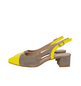 Mary Jane slingback neon