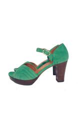 Chie Mihara Platform sandaal groen