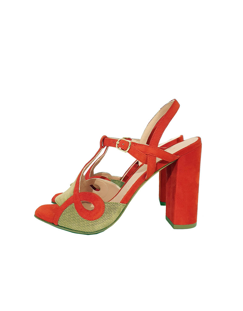 Chie Mihara sandaal rood/goud