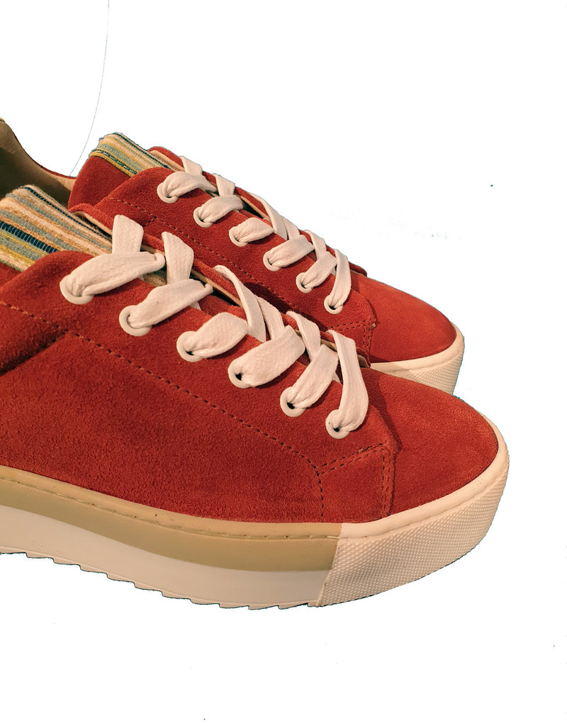 Roberto d'Angelo platform sneaker roest