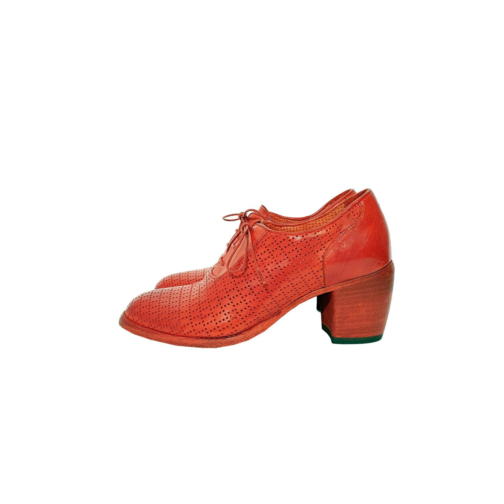 Veterschoenen rood