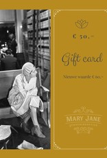 GIFT CARD ter waarde van  € 60,-