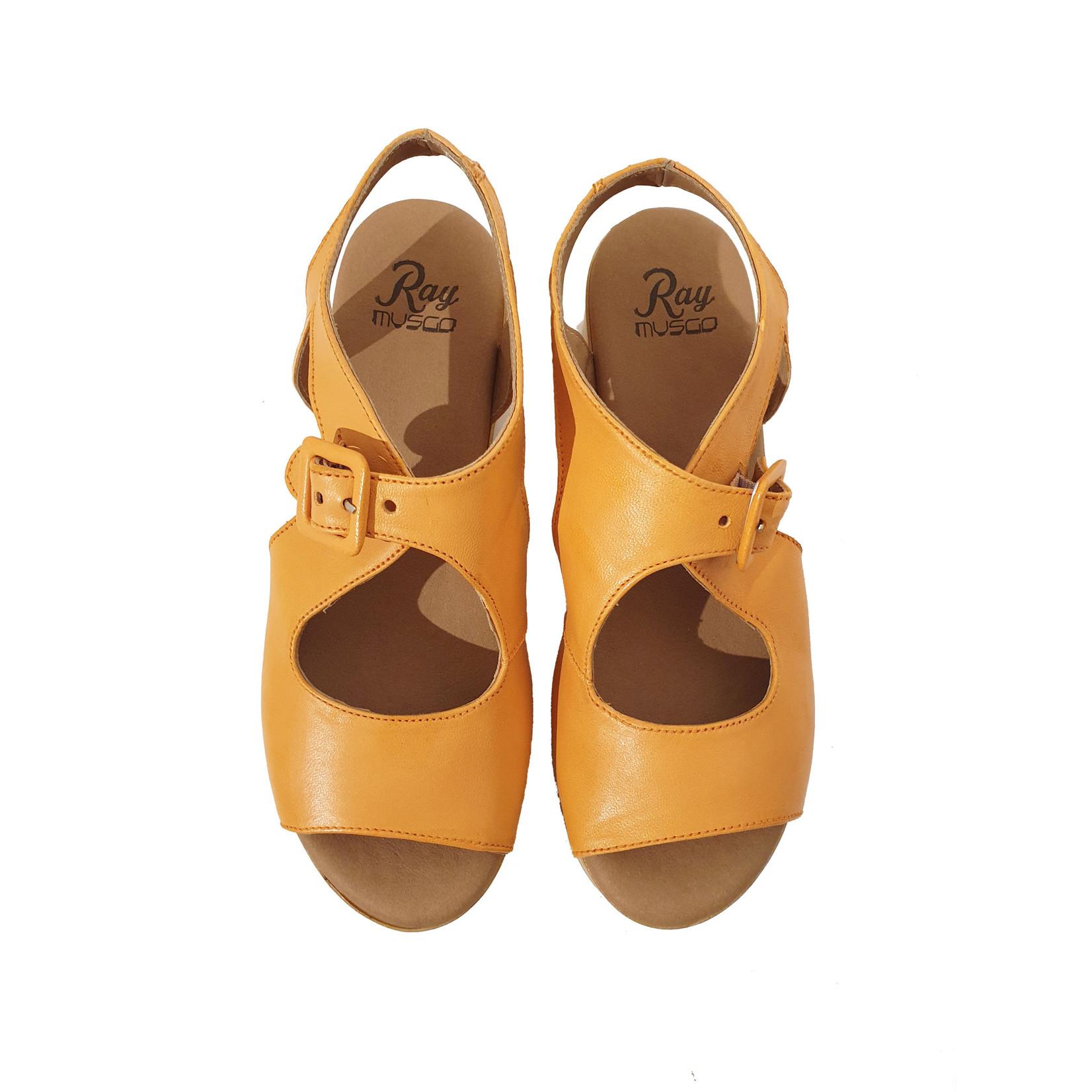 sandaal oranje Aman
