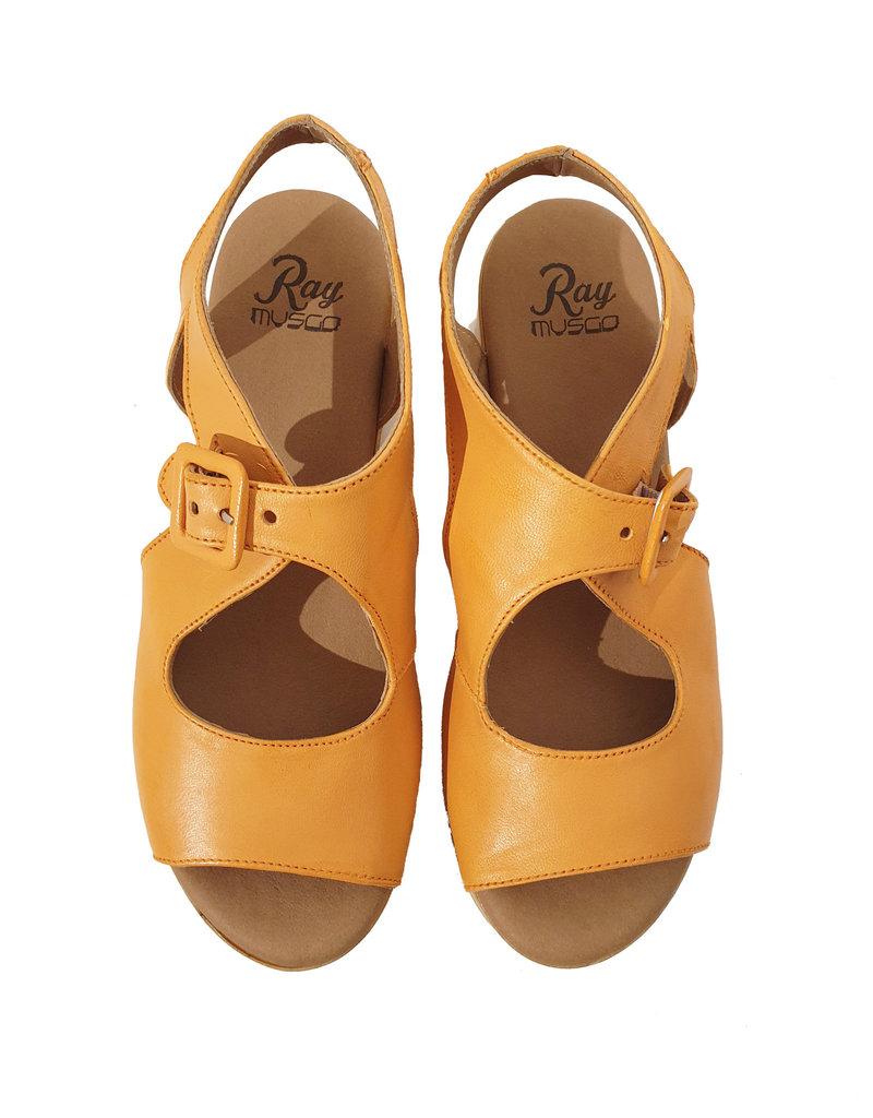 Ray Musgo sandaal oranje Aman