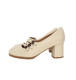 Ray Musgo Ray Musgo pump off-white