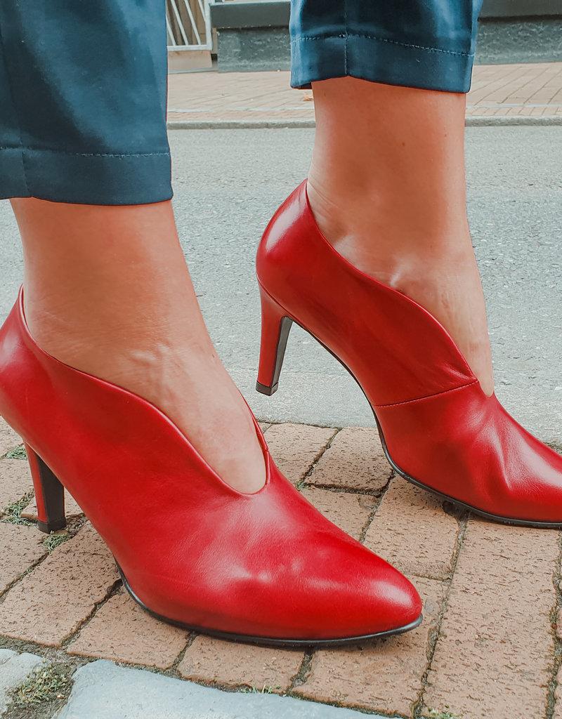 Mary Jane Pump naaldhak  rood