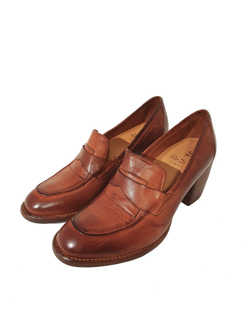 Paul Silence pump cognac