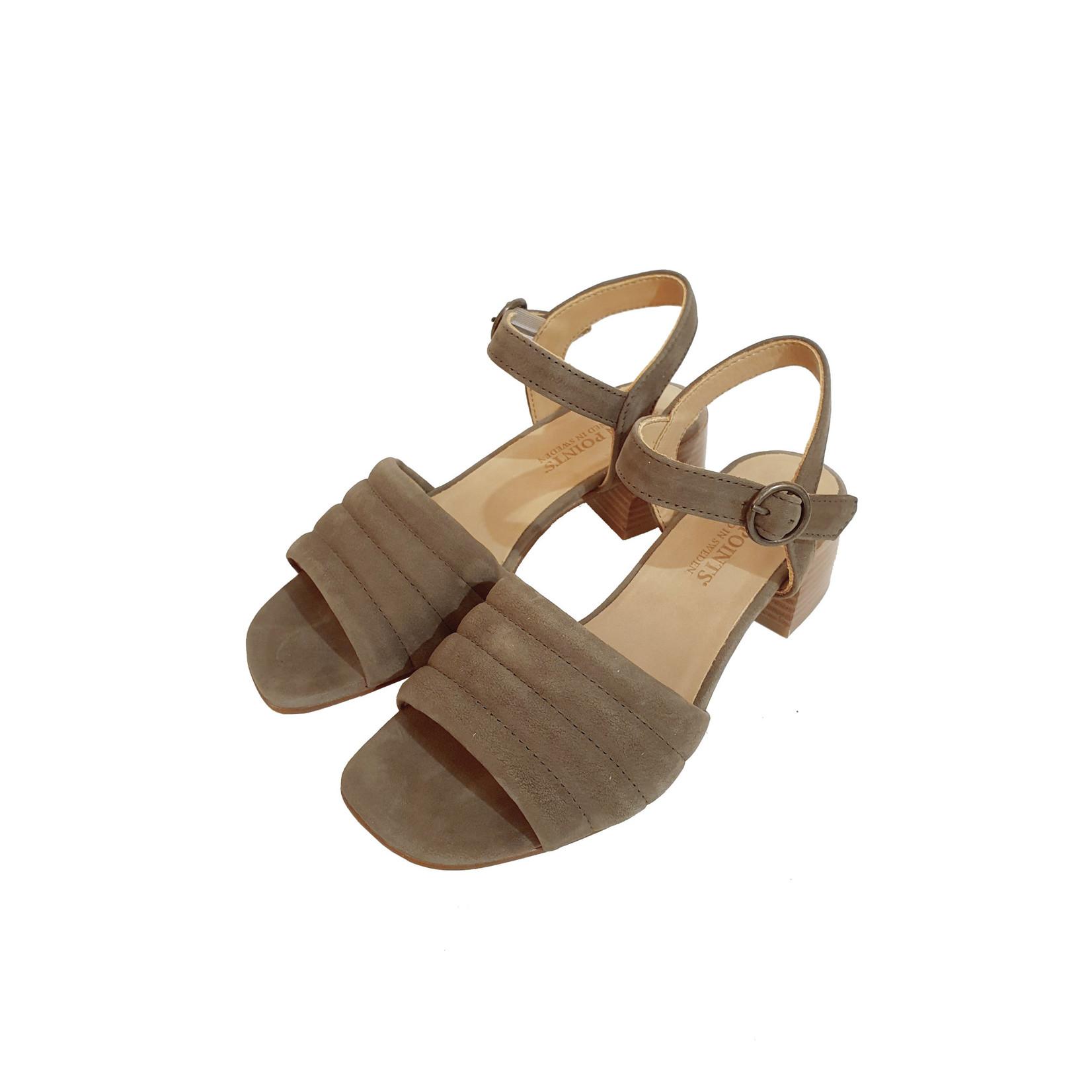 Ten Points sandaal MILDE khaki
