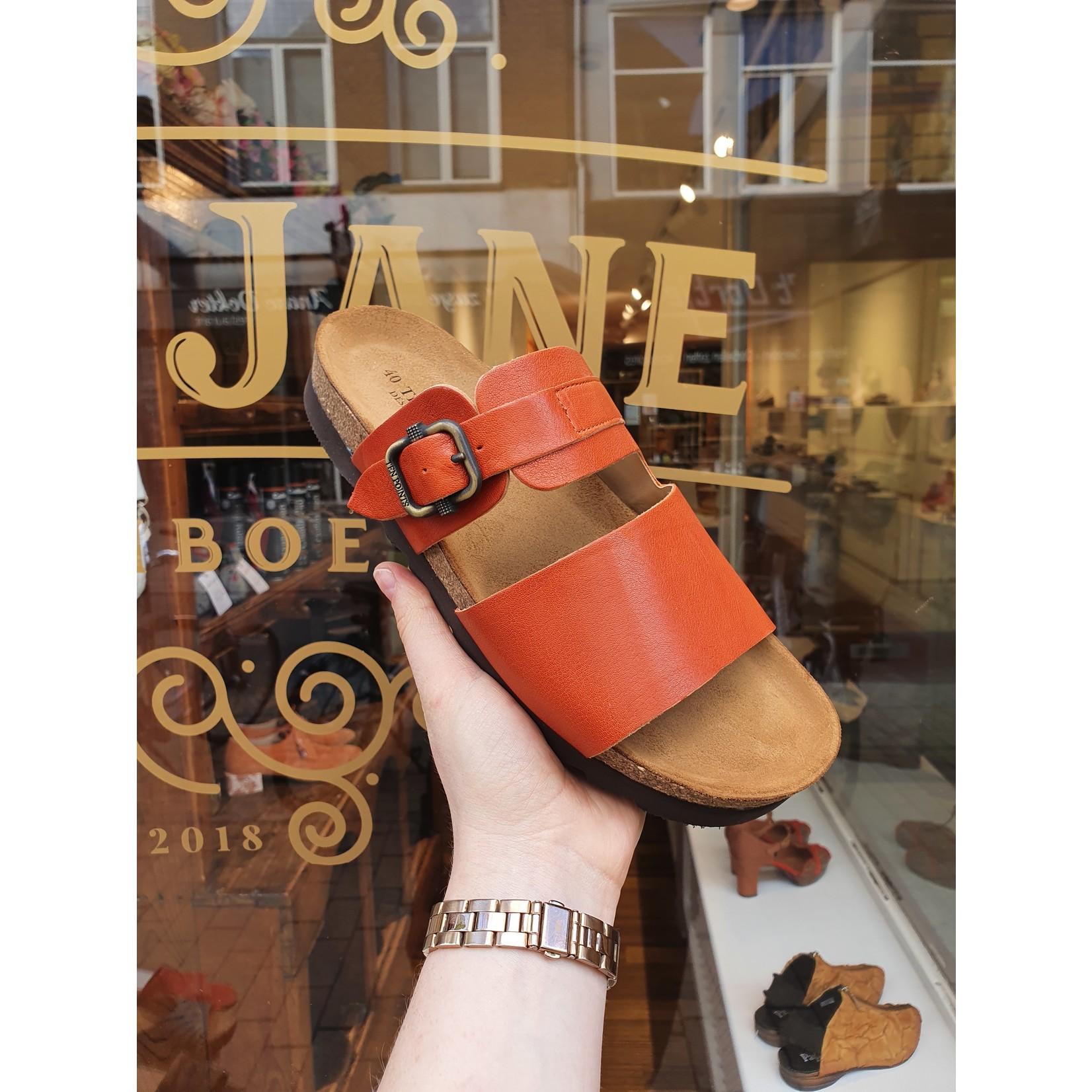 Ten Points sandaal VIVIENNE oranje