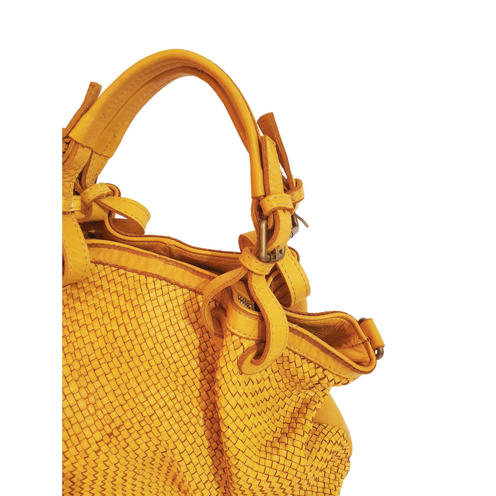 Marlon De gele shopper