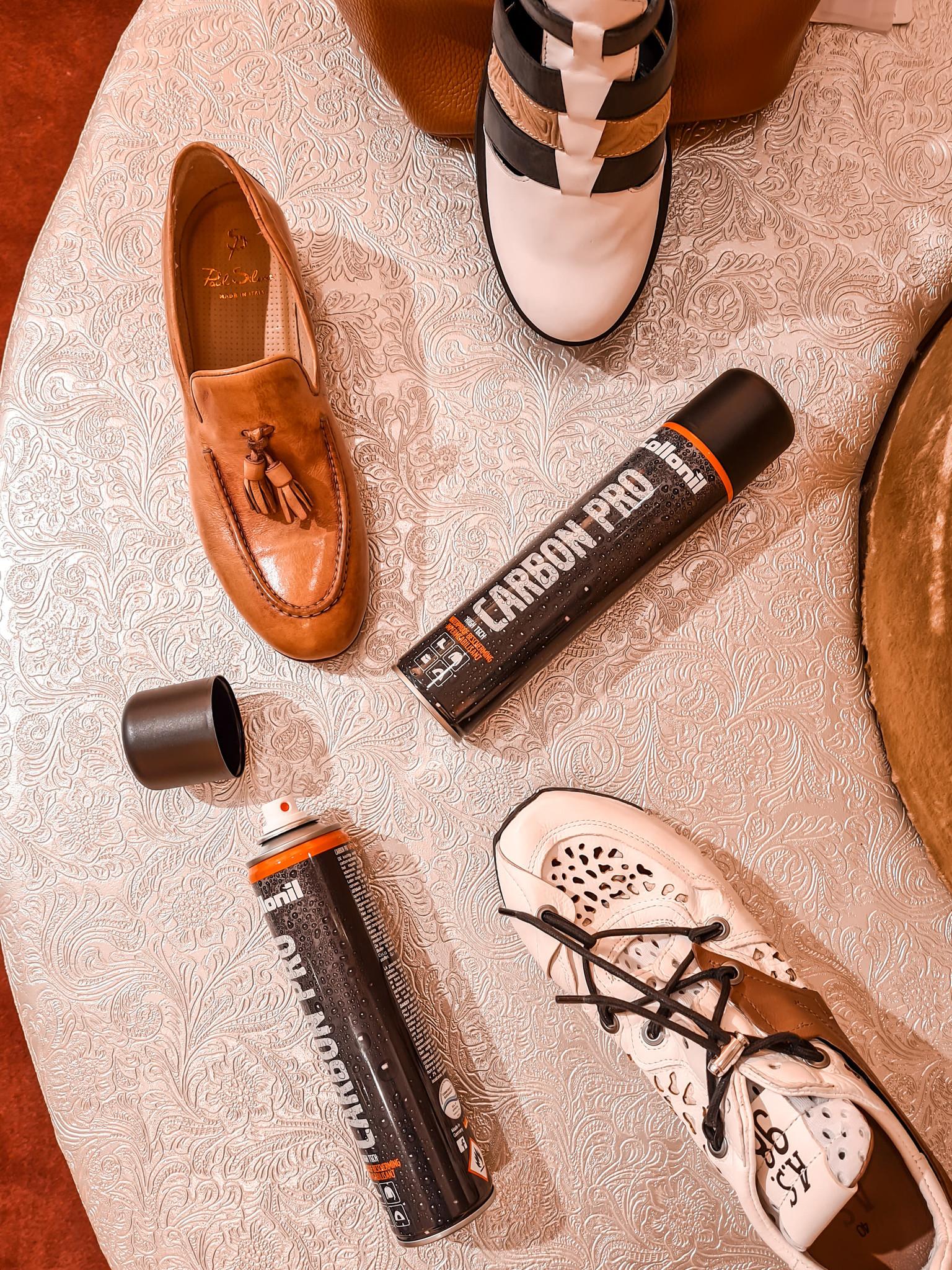 Schoenen onderhouden met Carbon Pro