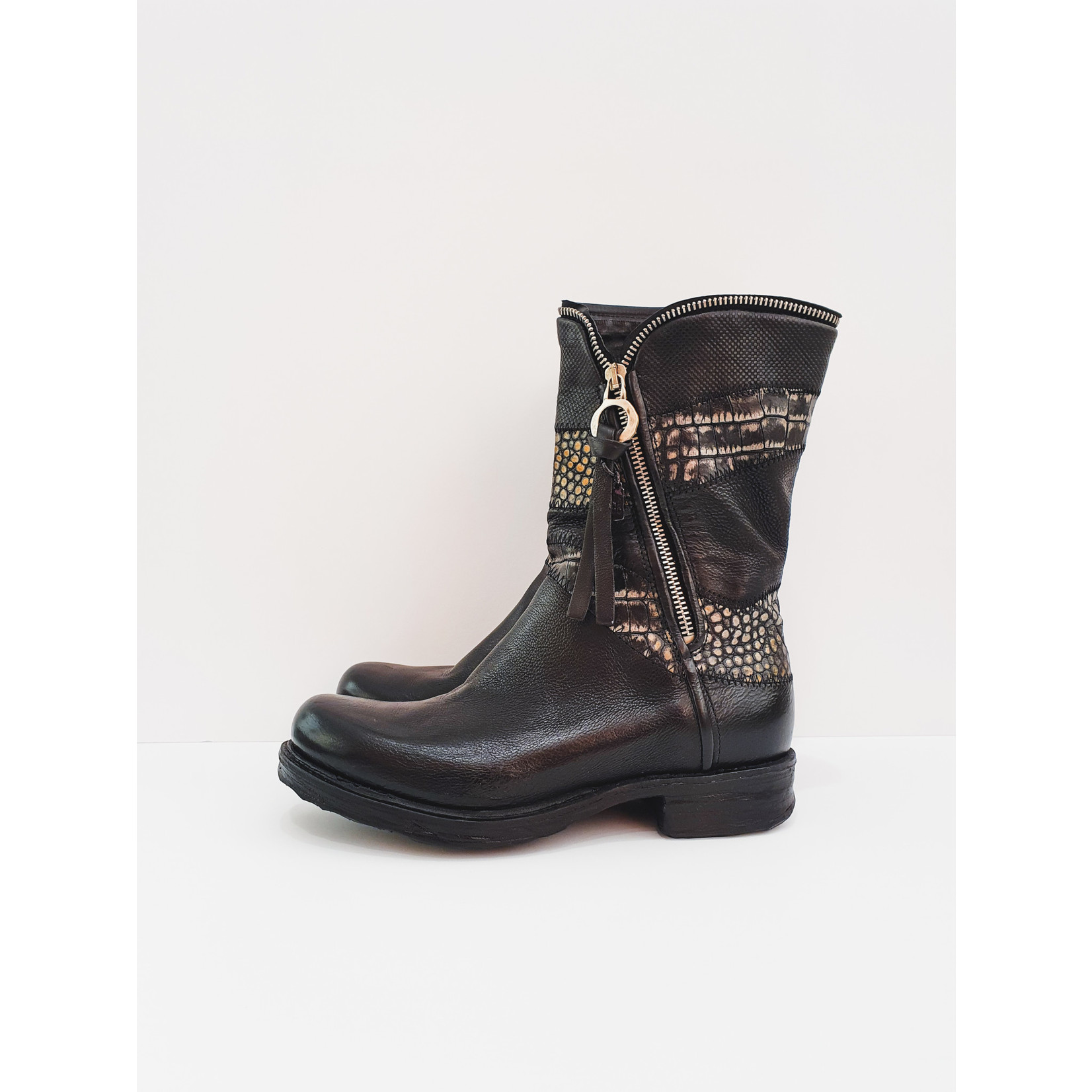 Perfect Patchwork boots