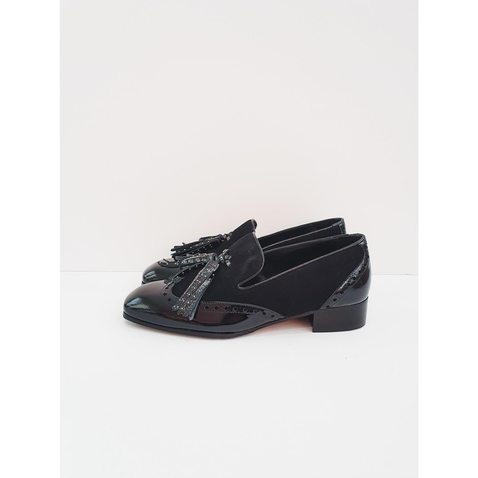 Little black loafer