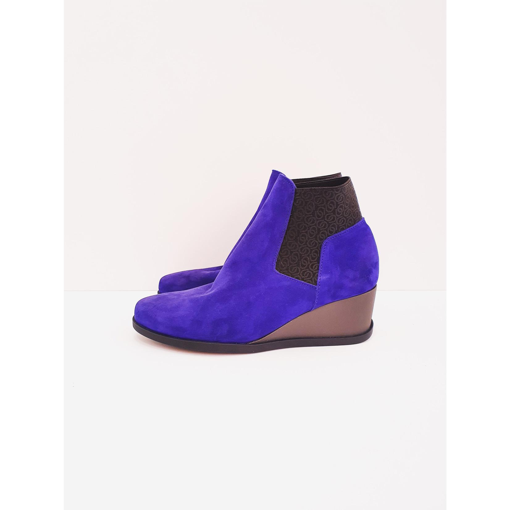 Little bright blue shoe