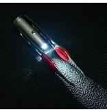 Merkloos Pincet met Lampje - Tweezer met Led Verlichting - Epileerpincet met Brede Grip