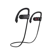 Drahtloses Sport-Headset Drahtlose Kopfhörer Bluetooth-Sport-Ohrhörer wasserdicht Wasserabweisende Sport-Ohrhörer mit eingebautem Mikrofon