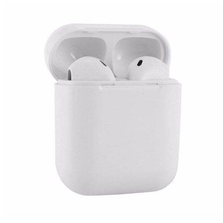 CARAMELLO Bluetooth-Kopfhörer - Drahtlose Ohrhörer - Drahtloser Kopfhörer - Kopfhörer für Apple iPhone SE / 6/7/8 / X, iPad Pro, Samsung S7 / S8 / Hinweisfarbe Weiß