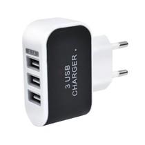 USB 3 in 1 Oplader voor iPhone 8/8 Plus/X/iPad | USB Telefoonlader Samsung Galaxy S6/S7/S8/S9 Note