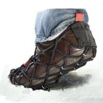 Ezyshoes - Anti-Slip overschoen - Vermijd Uitglijden - Voor IJs / Modder / Natte Ondergrond en Sneeuw - Maat M