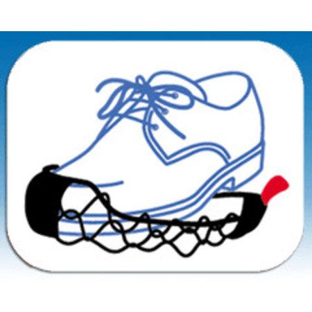 Ezyshoes Ezyshoes - Anti-Slip overschoen - Vermijd Uitglijden - Voor IJs / Modder / Natte Ondergrond en Sneeuw - Maat M
