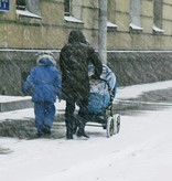 Ezyshoes Ezyshoes - Anti-Rutsch-Überschuh - Vermeiden Sie Ausrutschen - Für Eis / Schlamm / nassen Untergrund und Schnee - Maat M