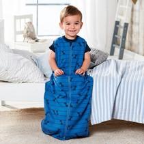 Baby Slaapzak | 100% Milieu Bewust Bio Katoen | Geproduceerd en Gecertificeerd Volgens de World Organic Textile Standard Maat 70 cm | Vanaf 3 tot 12 Maanden | Met Dino Print.