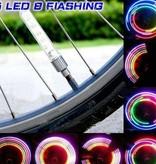 Fahrrad-Radlichter - LED-Ventillichter - 5 Farben - mehrere Kniper-Varianten - Inkl. Batterien - auch für Motor, Brommer, Auto