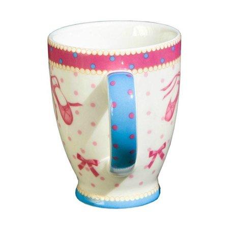 Cupkes Senseo Mokje Balletbenen  | Porselein | 100 ml