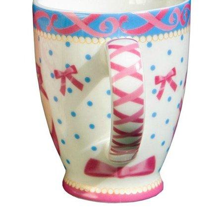 Cupkes Senseo Becher Ballettbeine | Porzellan | 100 ml