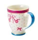Cupkes Senseo Mokje Balletschoentjes  | Porselein | 100 ml