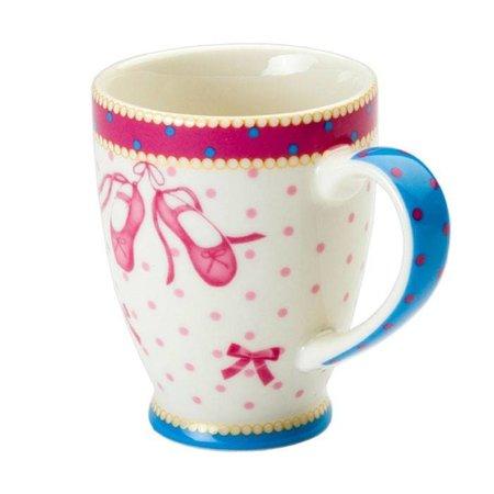 Cupkes Senseo Mug Ballet shoes | Porcelain | 100 ml