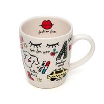 Latte & Co Mok met Fashion Fever Print | Porselein