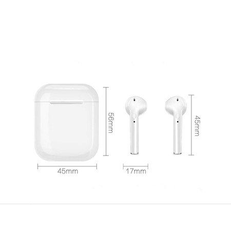 CARAMELLO Draadloze Oordopjes Earpods Bluetooth V4.2 Headset voor iPhone/Android