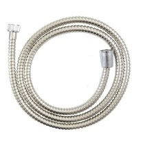 Shower hose 200 cm Stainless Steel | Incl. Gaskets