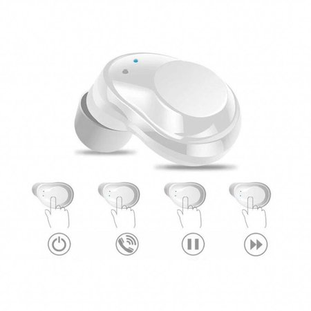 CARAMELLO True Wireless Stereo Earbuds with Great Bass  Sound Bluetooth earphones with Smooth One Touch Function Wireless In-earbuds