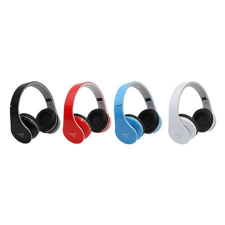 Bluetooth Opvouwbare Stereo Over-Ear Koptelefoon met Ingebouwde FM-Radio | Ingebouwde Microfoon