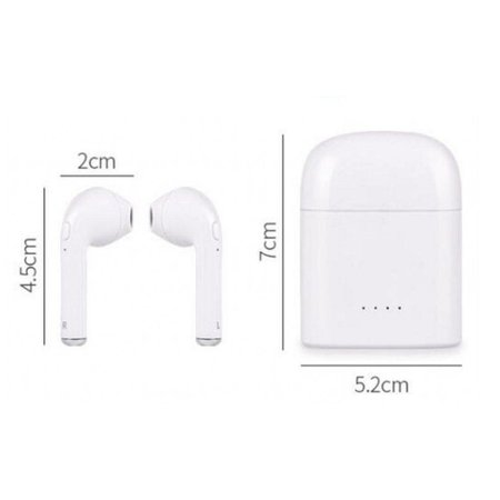 CARAMELLO Draadloze Oortjes - Bluetooth Oordopjes - Wireless Headphone - Koptelefoon voor Apple iPhone 7/8/X, iPad Pro, Samsung S7/S8/Note - Copy