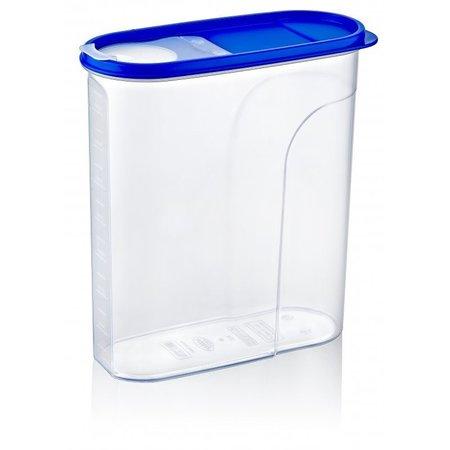 Vershouddoos 4 Liter - Bewaardoos voor Cornflakes.Muesli - Afsluitbaar - Strooibus