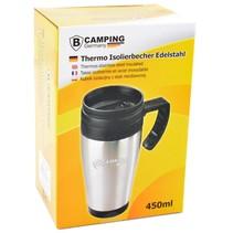 Thermobeker zum Mitnehmen | Kaffeetasse Metal Cup für die Straße | Trinkbecher Reisebecher 450 ml