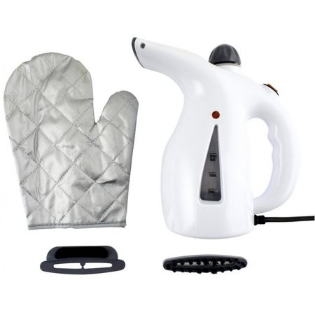 Clothing steamer | Steam Cleaner for Clothing with Two Different Attachments and Heat Protection Glove