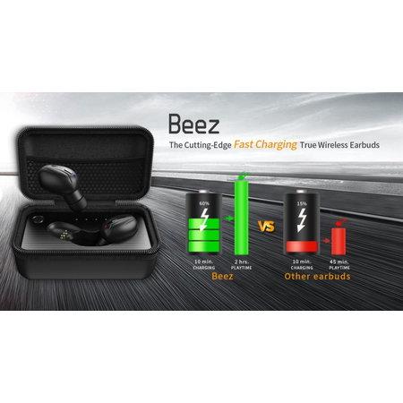 CARAMELLO Beez Waterafstotende Oordopjes - Auto Power On/Off - Auto Pairing - Snel Opladen
