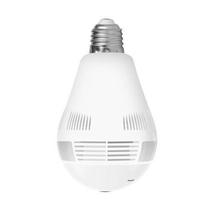 CARAMELLO Camera Lamp Wifi - Beveiligingscamera in LED Peer - Spy Camerapy