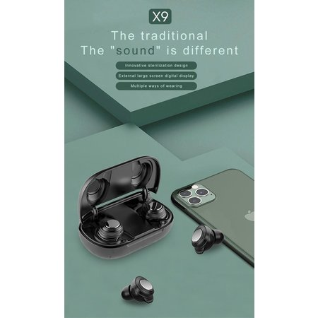 CARAMELLO Draadloze Oordoppen - Bluetooth In-ear - Wit - Volledig Draadloze Oordopjes EAN