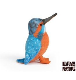 Living Nature Knuffel IJsvogel, 13 cm