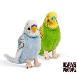 Living Nature Knuffel Parkieten, set van 2 stuks