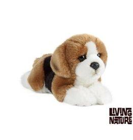 Living Nature Knuffel Hond Beagle