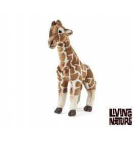 Living Nature Knuffel Giraffe, groot